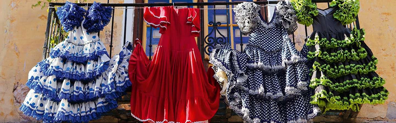Andalusien Kleider Reiseziel Spanien